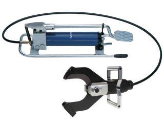 EH105 Hydrauliczny nożny zestaw do cięcia kabli i przewodów