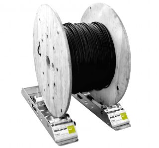 Stojak do odwijania kabli z bębnów JumboRail E90105