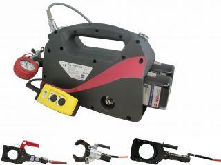 Nożyce akumulatorowe do bezpiecznego cięcia kabli GIS-AP200