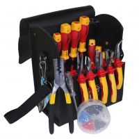 TN-14 Walizka z 19 narzędziami dla elektryka