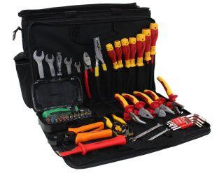 TN-19 Walizka z 50 narzędziami dla elektryka